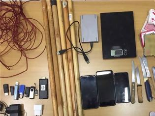 Φωτογραφία για Κορυδαλλός: Έφοδος σε κελιά κατηγορούμενων για τρομοκρατία - Βρήκαν από χάπια μέχρι... αυτοσχέδια όπλα