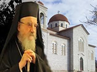 Φωτογραφία για Ο Μητροπολίτης κκ Κοσμάς στον Ιερό Ναό Αγίου Γεωργίου Μαχαιρά την Κυριακή της Πεντηκοστής 7 Ιουνίου.