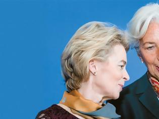 Φωτογραφία για Oύρσουλα Φον Ντερ Λαϊεν - Κρίστιν Λαγκάρντ: Oι κυρίες σώζουν την Ευρώπη