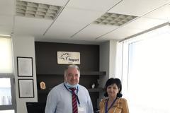 Επίσκεψη της Αντιπεριφερειάρχη, Μ. Σαλμά, στο αεροδρόμιο Ακτίου. -Έλεγχοι σε καταστήματα υγειονομικού ενδιαφέροντος