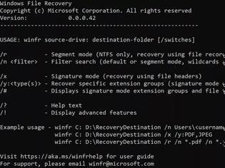 Φωτογραφία για Δωρεάν εργαλείο ανάκτησης αρχείων σε μελλοντικό Windows 10 update