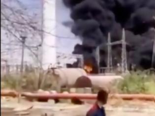 Φωτογραφία για Φωτιά σε σταθμό παραγωγής ηλεκτρικής ενέργειας στο νοτιοδυτικό Ιράν