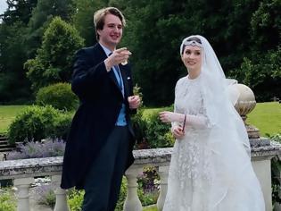 Φωτογραφία για Ο πρώτος βασιλικός γάμος μέσα στην πανδημία έγινε στην Αγγλία
