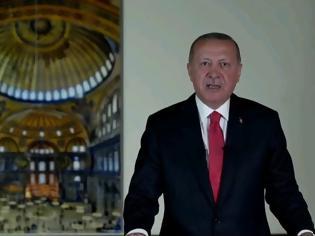 Φωτογραφία για Διάγγελμα Ερντογάν: Στις 24 Ιουλίου θα γίνει προσευχή στην Αγιά Σοφιά