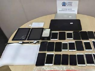 Φωτογραφία για Εξιχνιάστηκε υπόθεση ηλεκτρονικής απάτης με τη χρήση κλεμμένων smartphones