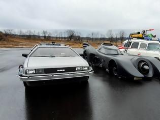 Φωτογραφία για Τρία κινηματογραφικά αυτοκίνητα