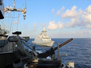Φωτογραφία για ΝAVTEX του Πολεμικού Ναυτικού για ασκήσεις με πυρά στην περιοχή του Καστελλόριζου