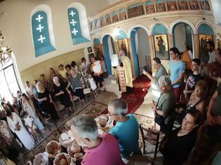 Φωτογραφία για Μέγας Πανηγυρικός Εσπερινός μετ' Αρτοκλασίας στον Άγιο Παντελεήμονα Αστακού
