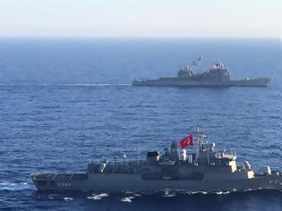 Φωτογραφία για ΗΠΑ: Κοινή άσκηση και με τους Τούρκους έκανε το Αϊζενχάουερ στην Ανατολική Μεσόγειο
