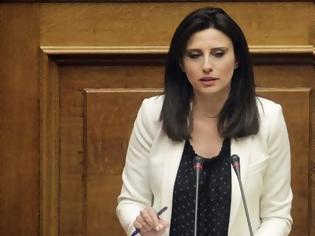 Φωτογραφία για Βουλή: Άρση της ασυλίας της Νίνας Κασιμάτη για τα σχόλια της κατά των αστυνομικών
