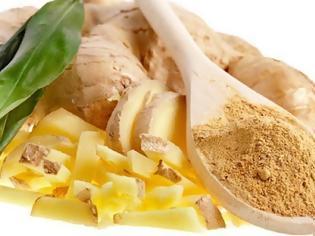 Φωτογραφία για Πιπερόριζα ή τζίντζερ βότανο για βαρυστομαχιά, κρυολόγημα, χοληστερίνη, αρθρίτιδα, διαβήτη, δίαιτα