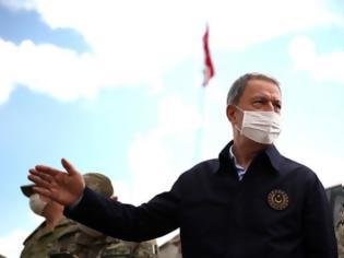 Φωτογραφία για Ελληνοτουρκικά: Στα σύνορα με την Ελλάδα για επιθεώρηση στρατευμάτων ο Ακάρ