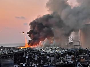 Φωτογραφία για Βηρυτός - Δύο τεράστιες εκρήξεις σε αποθήκες βεγγαλικών - Τουλάχιστον 10 νεκροί-βίντεο