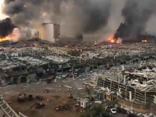 Φωτογραφία για Έκρηξη στην Βηρυτό: Ζημιές στην κυπριακή πρεσβεία - Τραυματίστηκε η επιτετραμμένη