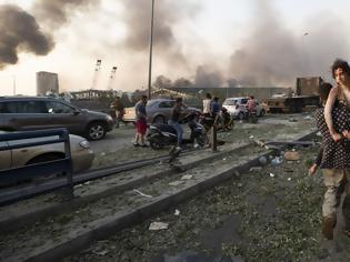 Φωτογραφία για Έκρηξη στη Βηρυτό παρόμοια με τη Χιροσίμα - Προκάλεσε σεισμό 4,5 R! - Πολλοί νεκροί, χιλιάδες οι τραυματίες 04 Αυγούστου 2020, 22:58