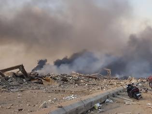 Φωτογραφία για Έκρηξη στη Βηρυτό: Ξεπερνούν τους 70 οι νεκροί, χιλιάδες οι τραυματίες - Νύχτα αγωνίας στα συντρίμμια