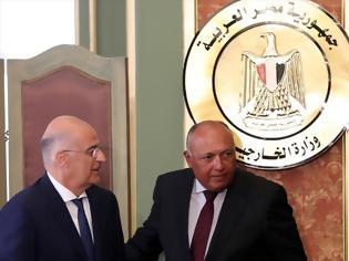 Φωτογραφία για Υπεγράφη συμφωνία Ελλάδας - Αιγύπτου για την ΑΟΖ
