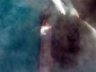 Φωτογραφία για Μαυρίκιος: Μεγάλη περιβαλλοντική ζημιά από πετρελαιοκηλίδα - 1.000 τόνοι πετρελαίου έχουν διαρρεύσει