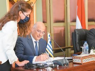 Φωτογραφία για Συμφωνία Ελλάδας - Αιγύπτου για ΑΟΖ: Λύσσαξαν οι Τούρκοι - Ο Ερντογαν βγάζει ξανά τις φρεγάτες