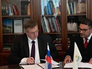Φωτογραφία για Κύπρος - Ρωσία: Υπέγραψαν νέα συμφωνία αποφυγής διπλής φορολογίας
