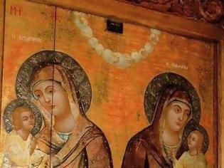 Φωτογραφία για Η εικόνα της Παναγίας Διπλής (δύο Παναγίες στο ίδιο εικόνισμα)
