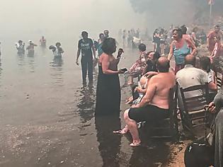Φωτογραφία για Φωτιά στο Μάτι: «Βλέπαμε τον καπνό στο Νταού όταν πίναμε καφέ με τον διοικητή»