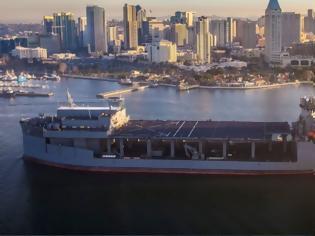 """Φωτογραφία για Τζέφρι Πάιατ: Στην Ελλάδα σύντομα το αμερικανικό ελικοπτεροφόρο USS Hershel """"Woody"""" Williams"""