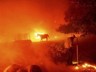 Φωτογραφία για Κόλαση επί γης : Αν δεν πιστεύετε στην κλιματική αλλαγή δείτε την Καλιφόρνια (video)