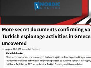 Φωτογραφία για Nordic Monitor: Νέα έγγραφα – ντοκουμέντα που μαρτυρούν την κατασκοπευτική δράση αντιφρονούντων στην Ελλάδα