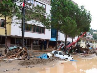 Φωτογραφία για Τουρκία: Πέντε νεκροί από τις πλημμύρες