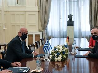 Φωτογραφία για Μήνυμα Μάας σε Τουρκία: Η Γερμανία στο πλευρό της Ελλάδας - Αρκεί μια σπίθα για ανάφλεξη