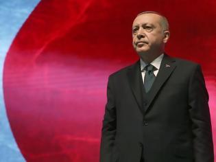 Φωτογραφία για Γελοιογραφία του Τούρκου προέδρου από τον καθηγητή Χάνκε: «Οι επικίνδυνες εξορμήσεις του Ερντογάν»