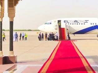 Φωτογραφία για Έγραψε ιστορία η πρώτη επίσημη πτήση από το Τελ Αβίβ στο Αμπού Ντάμπι