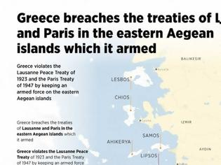 Φωτογραφία για Anadolu: Προπαγανδιστικό infographic για τα ελληνικά νησιά