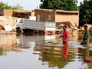 Φωτογραφία για Σουδάν: Σε κατάσταση έκτακτης ανάγκης για τρεις μήνες λόγω των καταστροφικών πλημμυρών