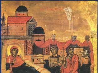 Φωτογραφία για Σήμερα βλάστησε από τη ρίζα του Ιεσσαί ο βλαστός απ' όπου θα βγει για τον κόσμο άνθος θεοϋπόστατο, ο Χριστός
