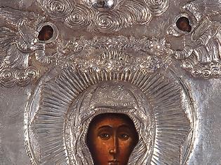 Φωτογραφία για Η Αγία Ευφημία με τον Τόμο των Ορθοδόξων στην αγκαλιά της