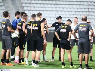 Φωτογραφία για Τα άκουσαν οι παίκτες της ΑΕΚ από τον Καρέρα