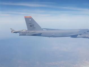 Φωτογραφία για Ελληνικά F-16 συνόδευσαν αμερικανικά βομβαρδιστικά σε πτήση εντός των FIR Αθηνών και Λευκωσίας