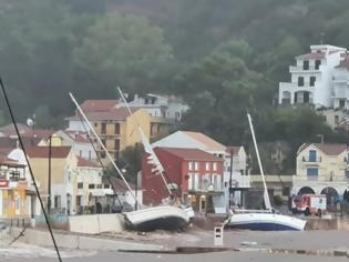 Φωτογραφία για Κακοκαιρία Ιανός - Ιθάκη:39 σκάφη βυθίστηκαν