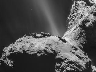 Φωτογραφία για Απίστευτη ανακάλυψη στο διάστημα - Για πρώτη φορά βρέθηκε σέλας σε κομήτη