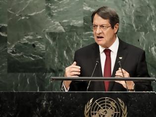 Φωτογραφία για Γενική Συνέλευση ΟΗΕ: «Σφυροκόπημα» Αναστασιάδη σε Τουρκία και Ερντογάν