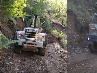 Φωτογραφία για Βίντεο: Ο στρατός βοηθά στην αποκατάσταση των ζημιών από τον «Ιανό»