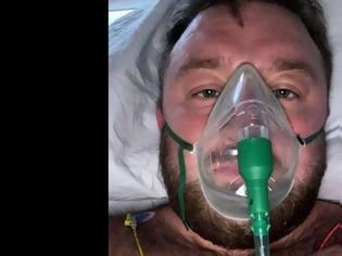 Φωτογραφία για «Νόμιζα ότι είναι ανοησία» λέει 29χρονος Βρετανός αρνητής μέσα από το νοσοκομείο