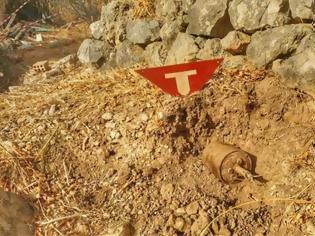 Φωτογραφία για Σάμος: Βρέθηκε νάρκη δίπλα από σχολείο! (Φωτογραφίες)