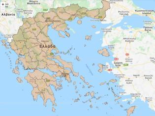 Φωτογραφία για O χάρτης προστασίας που ανακοίνωσε ο Χαρδαλίας – Τα μέτρα και τα επίπεδα