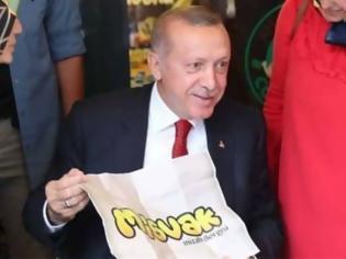 Φωτογραφία για Τουρκία: Σκίτσο του «αγώνα» του Ερντογάν με τις γειτονικές χωρες