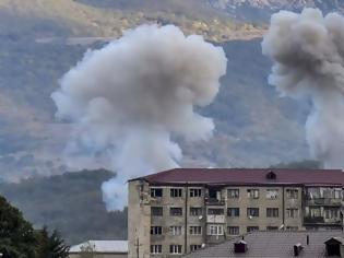 Φωτογραφία για Αζερμπαϊτζάν: Βομβαρδίζει το Ναγκόρνο Καραμπάχ λίγο πριν την εκεχειρία