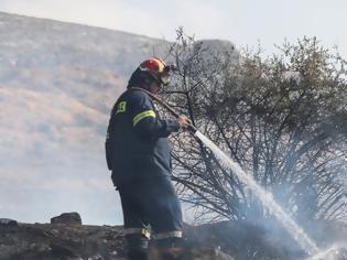 Φωτογραφία για Φωτιά Σπάτων Αρτέμιδας Αττικής. - Δεν απειλούνται κατοικίες