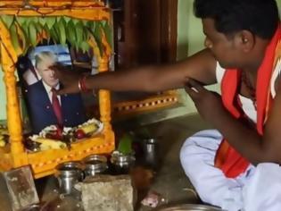 Φωτογραφία για Ινδία: Από ανακοπή πέθανε ο άντρας που δήλωνε λάτρης του Τραμπ